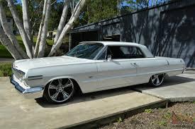 1963 Chevrolet Impala Coupe Genuine SS LA CAR 327CI Auto 22