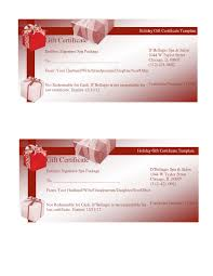 Fillable Gift Certificate Template Free My Future Template