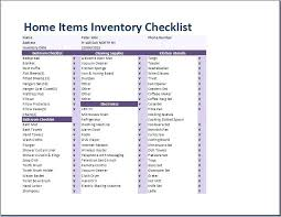 household inventory template. property inventory list template