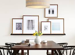 modern picture frames. Profile Modern Picture Frames In Walnut - Entryway  Room \u0026 Board Modern Picture Frames