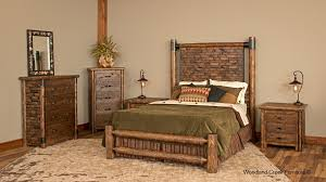 urban accents furniture. brilliant urban accents furniture log bed hickory u intended design decorating