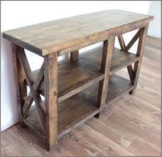 ana white rustic entryway table diy projects entryway table small
