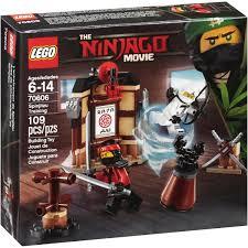 LEGO Ninjago Movie Spinjitzu Training 70606 (109 Pieces) - Walmart.com -  Walmart.com