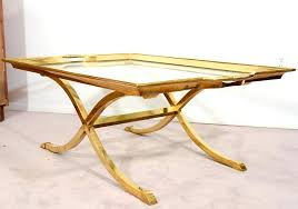 brass and glass coffee tables glass brass coffee table nz