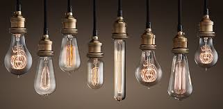exposed bulb lighting. vintage light bulbs exposed bulb lighting