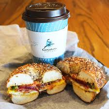Enjoy our full menu of fresh sandwiches, soups, and salads. Hot Coffee With Bagel Sandwich 2 Bruegger S Bagels