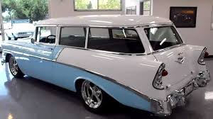 All Chevy 1957 chevy wagon for sale : 1956 Chevrolet 210 Handyman -SOLD - vSOLD - YouTube
