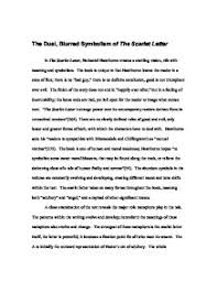 the dual blurred symbolism of the scarlet letter gcse religious  page 1 zoom in