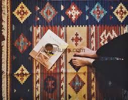 Tappeto Tessuto A Mano : Kilim tappeto promozione fai spesa di articoli in