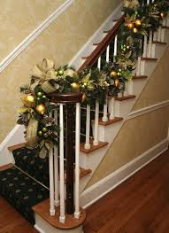... Christmas Banister Decoration Decorating Captivating Hallway Decor  Ideas Elegant Hallway Decoration Banister Banquette Christmas Stair  Decorations ...