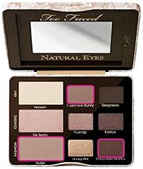too faced cosmetics natural eye neutral eye shadow collection 0 39 ounce net wt