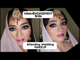 wedding guest makeup nikah bride