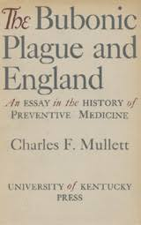 the bubonic plague and england an essay in the history of  heb book cover