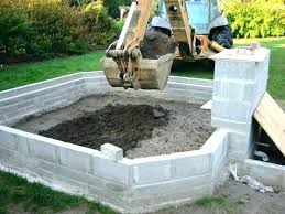 building a koi pond with concrete pond construction above ground concrete pond advice needed page 2