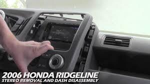 2006 Honda Ridgeline Radio Lights Not Working How To Remove The Stereo From A Honda Ridgeline