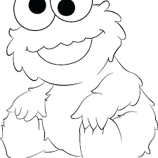 Cookie Monster Christmas Colouring Pages Best Of Coloring Images