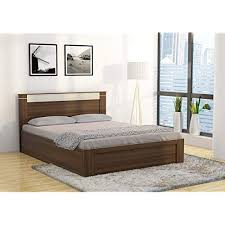 queen size bed price. Interesting Size Spacewood Pacific Queen Size Bed With Storage Woodpore Finish Moldau  Akazia On Price B