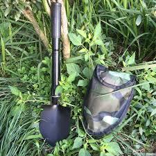 Folding <b>shovel for Metal detector</b> underground underwater gold ...