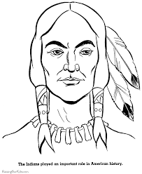 Small Picture Thanksgiving Indian Brave Coloring Pictures 012