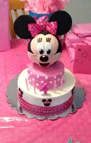 Minnie Mouse Birthday Cake Images Darjeelingteasclub