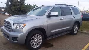2017 Toyota Sequoia Platinum Detail Review and Walk Around in ...