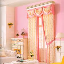 Curtain Patterns Inspiration Pretty Beige Floral Splicing Pattern Curtain Patterns No Valance