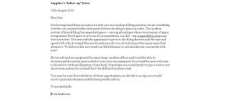 Business Follow Up Email Sample Full Letter Samples Effective