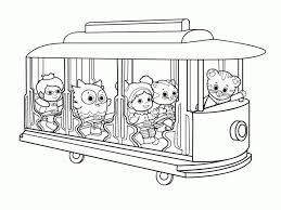 20 Free Printable Daniel Tiger Coloring Pages Everfreecoloringcom