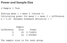 Statistical Power Formula Estimating A Good Sample Size For Your Study Using Power