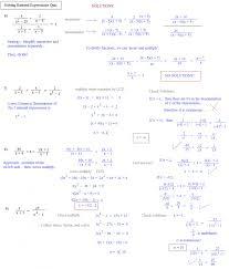 solving rational equations worksheet algebra 1 tessshlo