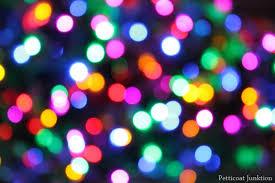 artsy lighting. Christmas Tree Lights Special Photograpy Affect Artsy Lighting