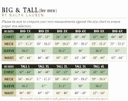 3xb Size Chart 40 Disclosed Size Chart For Big And Tall