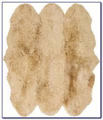 faux sheepskin rug canada