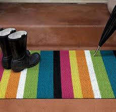 chilewich floor mat. Chilewich Bold Stripe Shag Floor Mats Mat