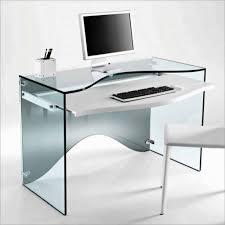 office desk  contemporary computer desk glass study desk