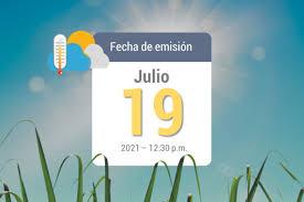 Winds could gust as high as 20 mph. Pronostico Del Tiempo 16jul 2021 Cenicana
