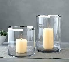 clear candle holders large glass hurricane votive holder stickers