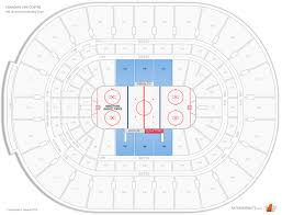 Ottawa Senators Seating Chart Canadian Tire Centre The Ledge Hockey Seating