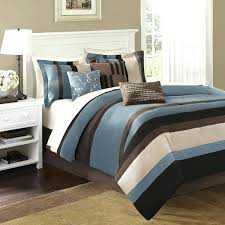brown and cream bedding cool blue duvet cover king size