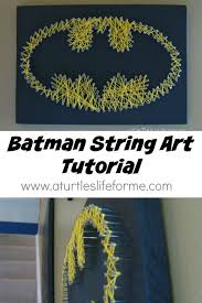 diy string banner unique easy string art for homes image