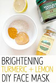 brightening turmeric lemon diy face mask with beautifying turmeric and healing manuka honey