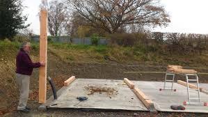 foundations for timber frame garage