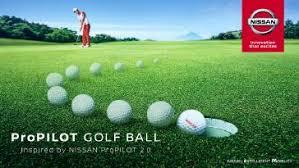 <b>Мяч для гольфа</b> Nissan ProPILOT превращает каждого игрока в ...