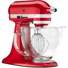 kitchenaid artisan designer 5 qt candy apple red stand mixer