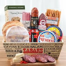 salami cheese crate large