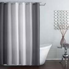 Extra Long Gray Shower Curtain Liner Shower Curtains Design