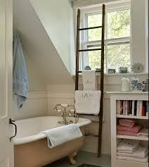 Excellent Image Of Towel Rack Ladder Bathroom Bathroom Towel Racks Property  Gallery