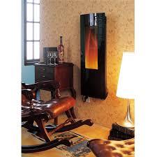 homcom 40 039 039 electric wall mount fireplace heater vertical