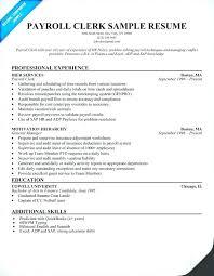 Custom Clerk Resumes Sample Accounting Resume Examples Customer
