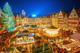 The huge Christmas tree makes Frankfurt's festive market one of the most  beautiful in the world